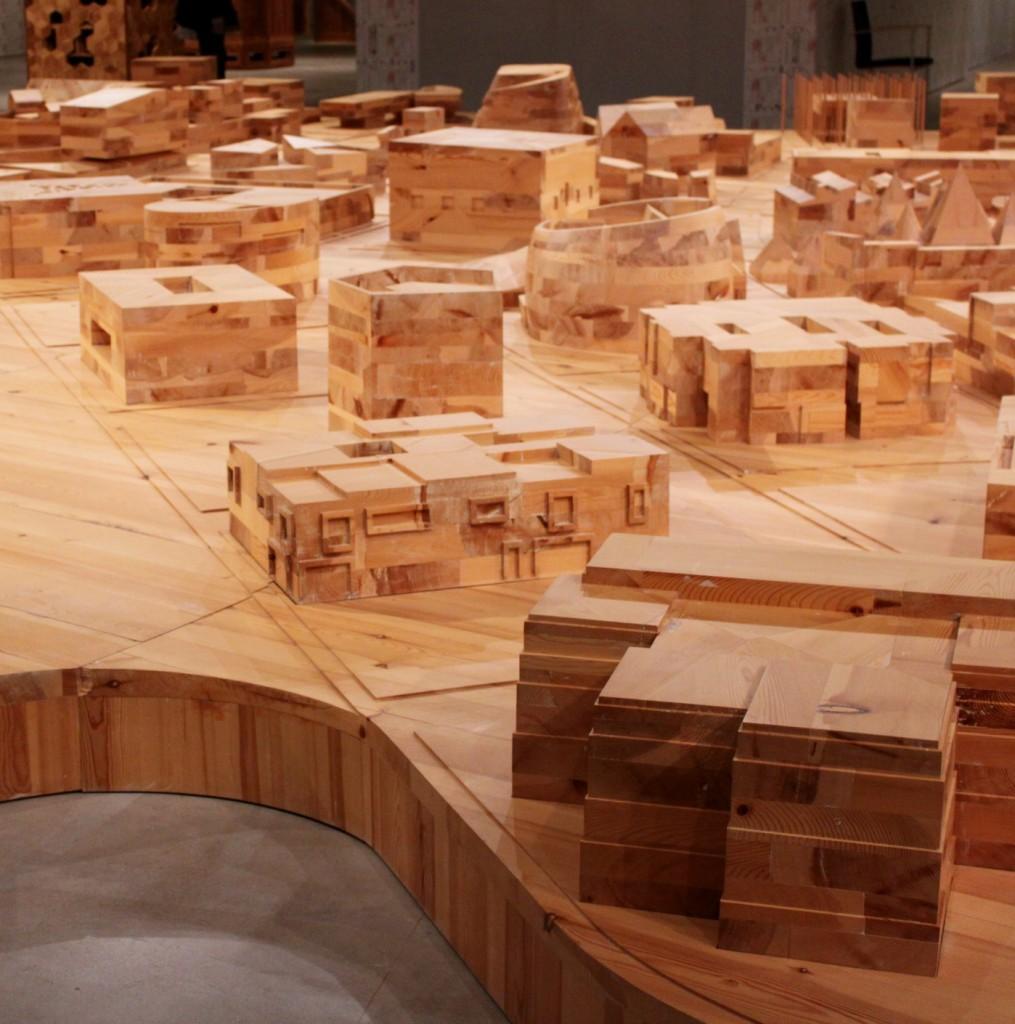 Ai Weiwei / Ordos 100 -pienoismalli (2011) (