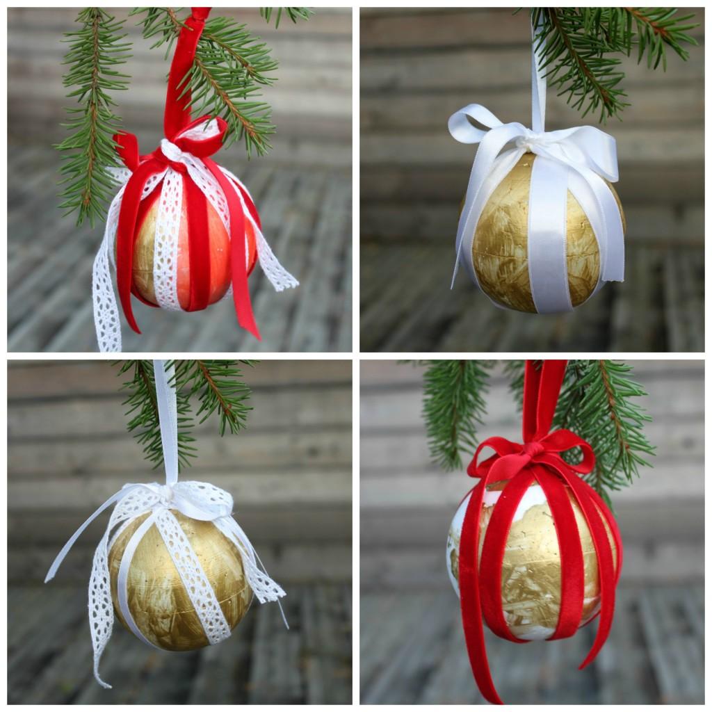 DIY-joulupalloja