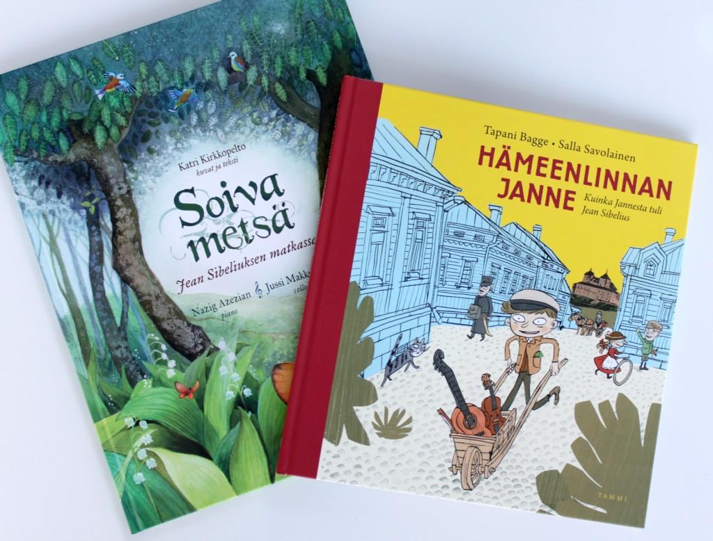 Sibelius 150 vuotta -lastenkirjoja