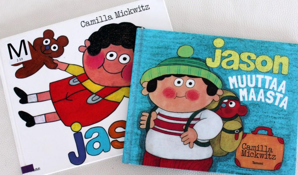 Camilla Mickwitzin Jason-kirjoja