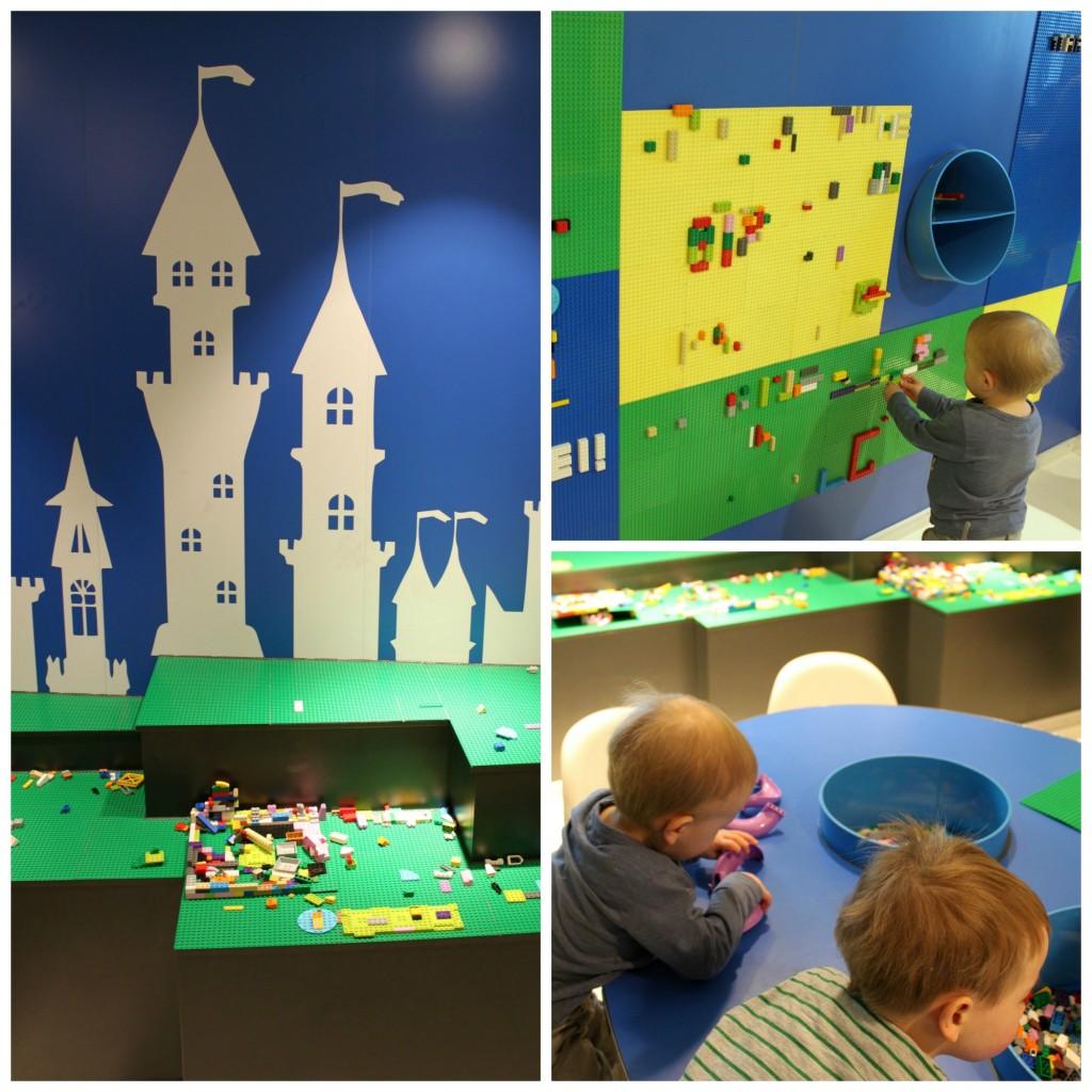 Legomaailma Silja Symphonyn leikkitilassa
