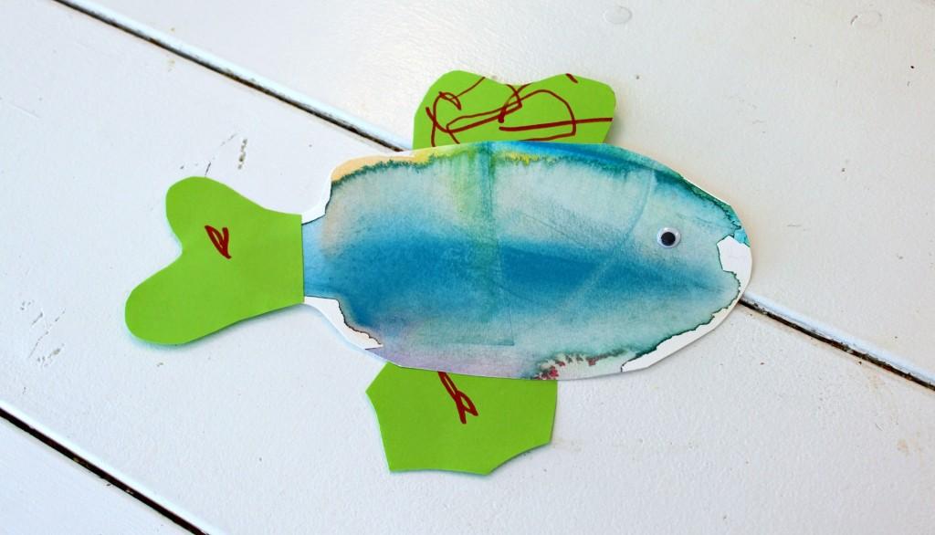 Kaksivuotiaan oma kala