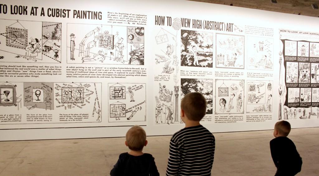Ad Reinhardt / Art vs. History