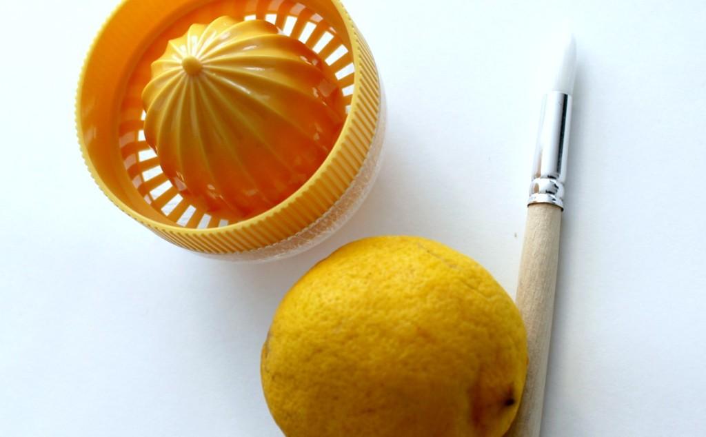 Sitruunamaalausta