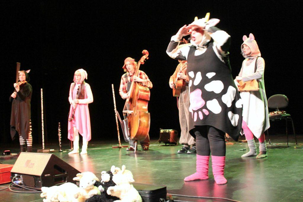 Lastenmusiikkiorkesteri Ammuu! / Metsään-konsertti