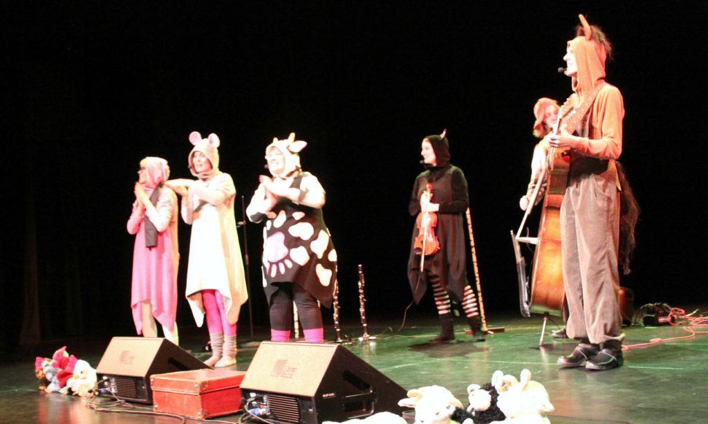 Lastenmusiikkiorkesteri Ammuu! ja Metsään-konsertti
