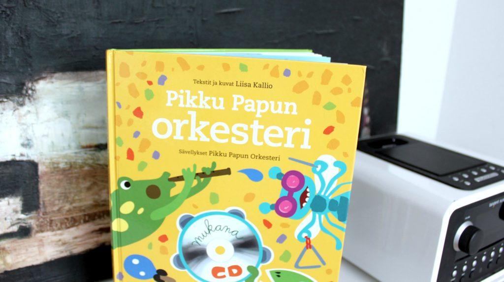 Uusi Pikku Papu -kirja ja CD