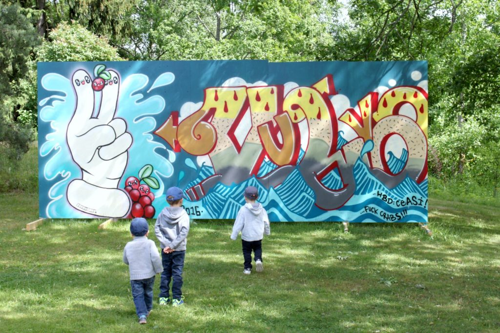 Graffitia Tarvaspäässä