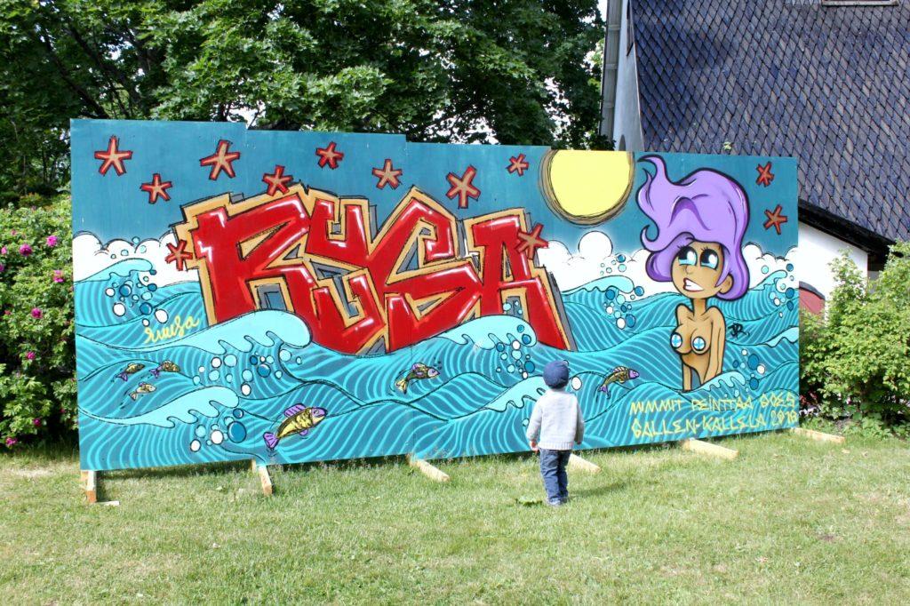 Graffiti Tarvaspäässä