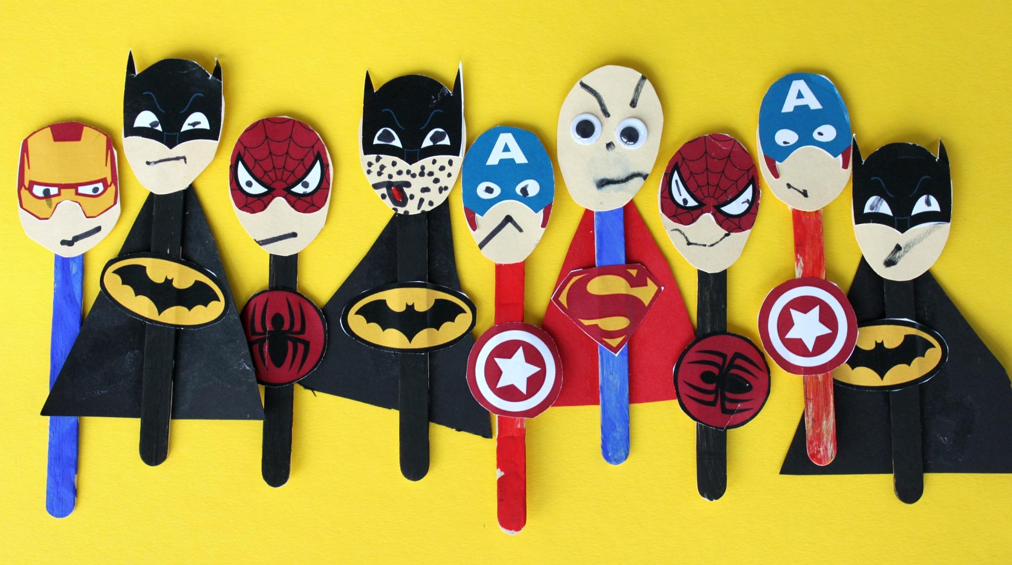 Pienten poikien omat supersankarit