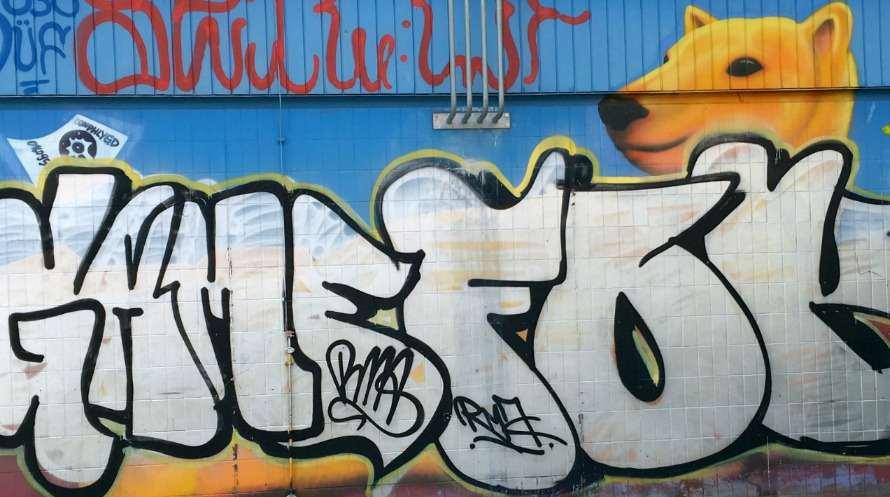 Berliiniläinen graffiti