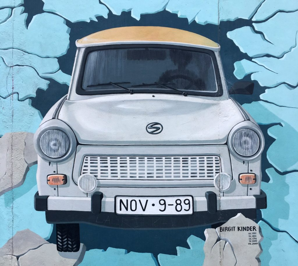 East Side Gallery / Berliner Mauer