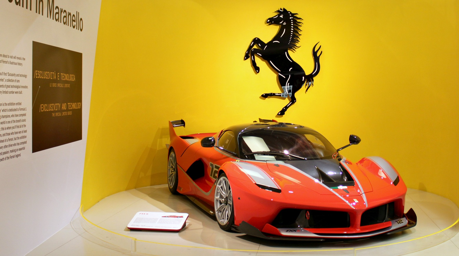 Ferrari-museo Italian Maranellossa