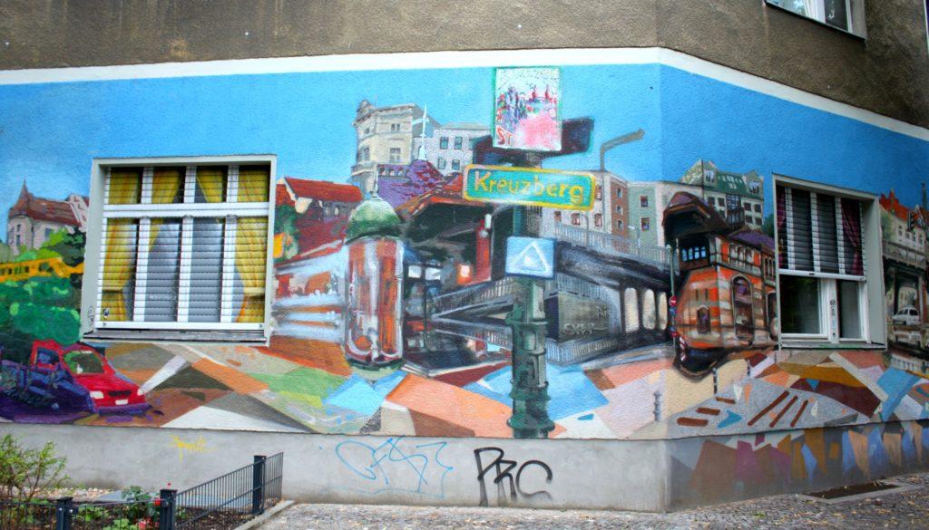 Katutaidetta Kreuzbergissä