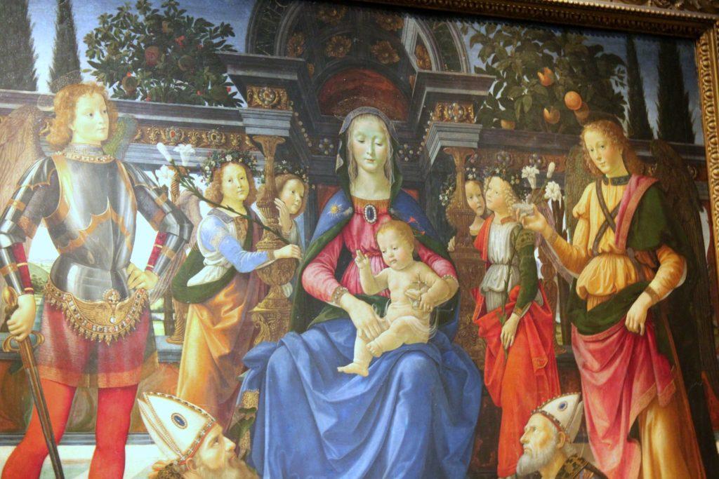 Leonardo da Vinci Uffizissa