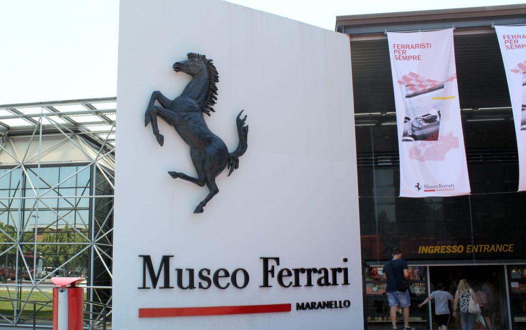 Ferrari-museo Maranellossa