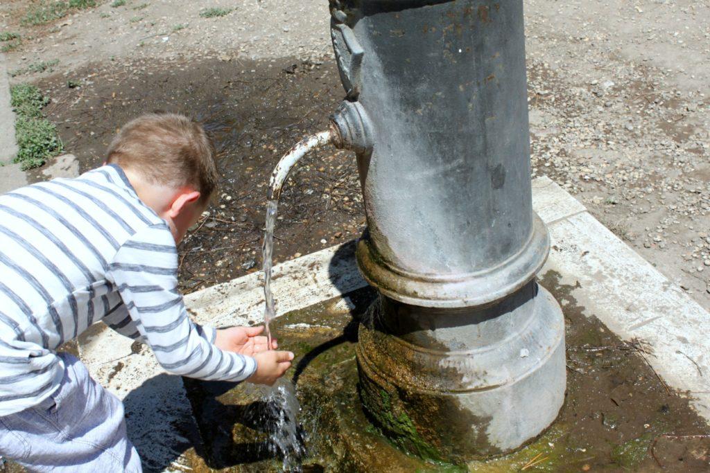 Vettä Roomassa
