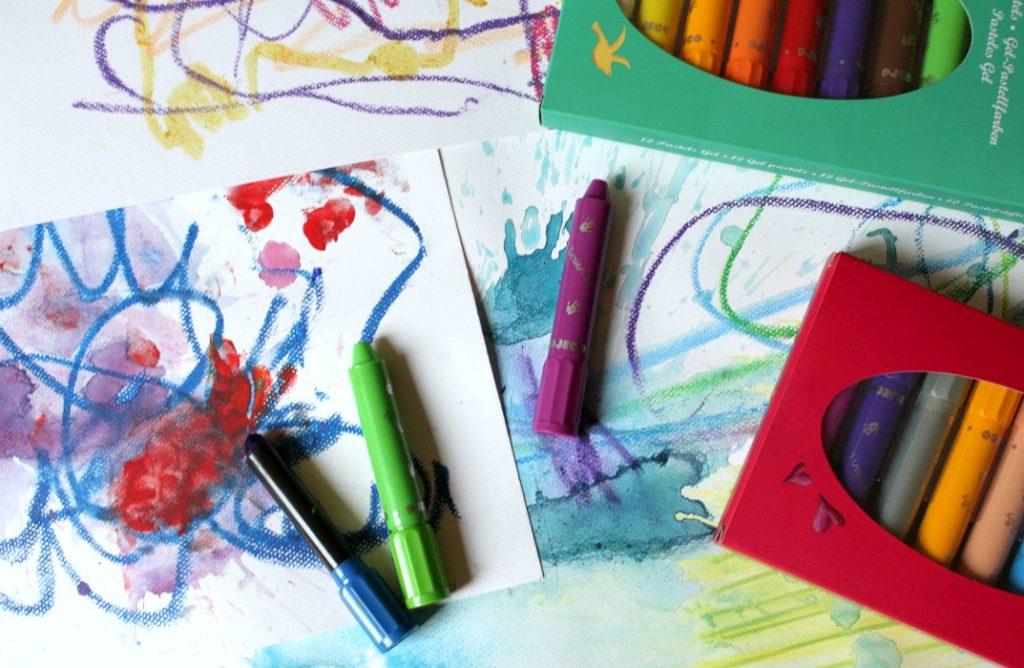Parhaat taidetarvikkeet lapsille