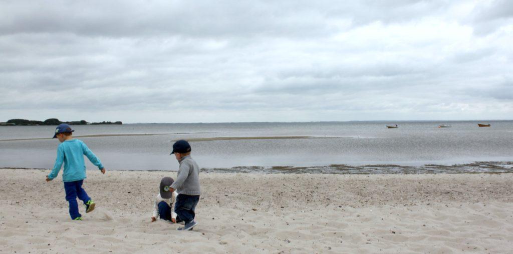 Tanskalaisella hiekkarannalla