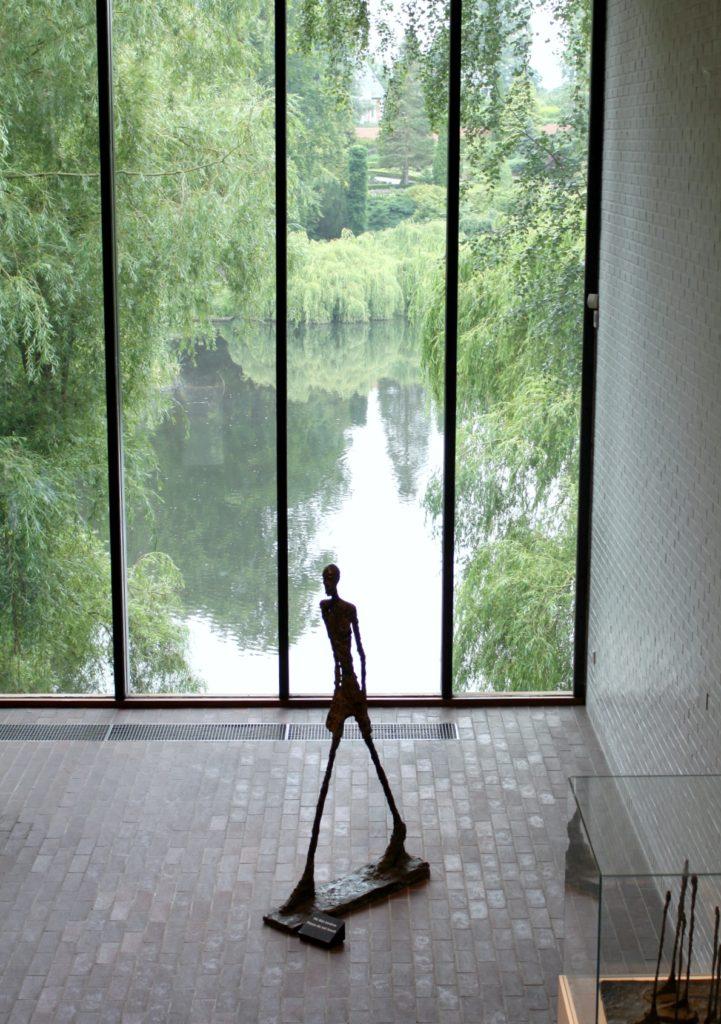 Giacometti Gallery Louisiana-taidemuseossa Tanskassa