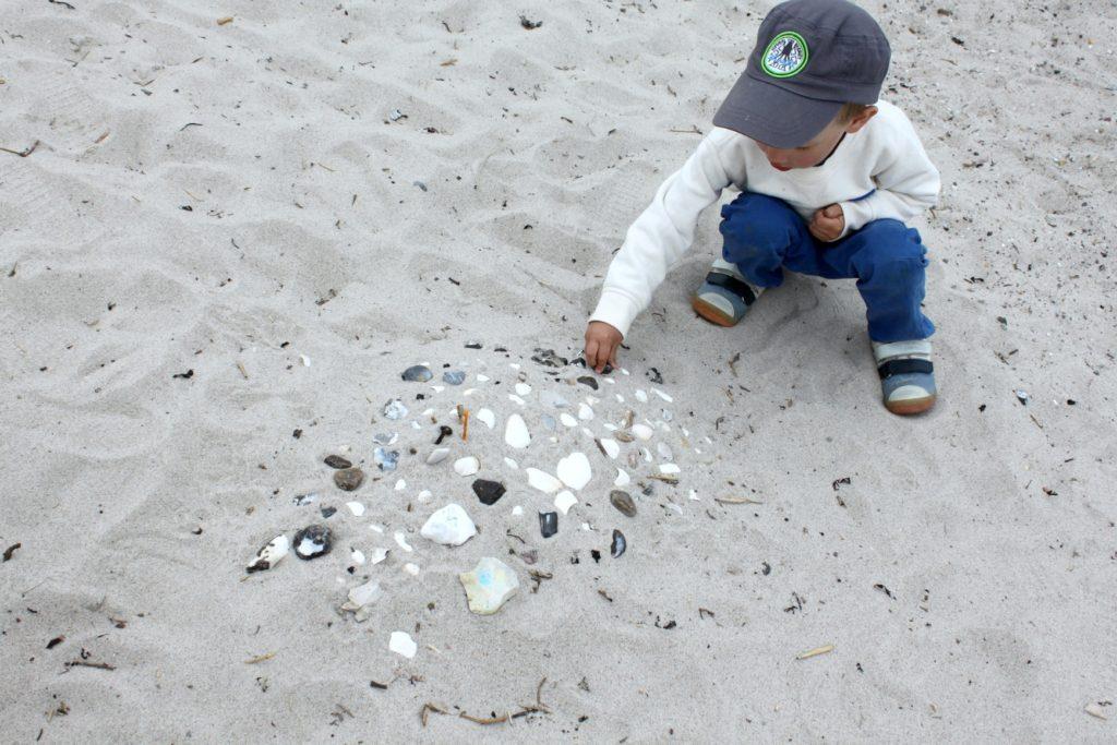 Taidetta hiekkarannalla