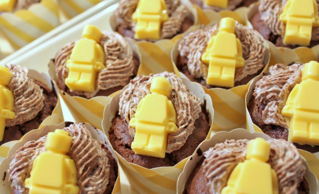 Lego-synttärit / muffinssit