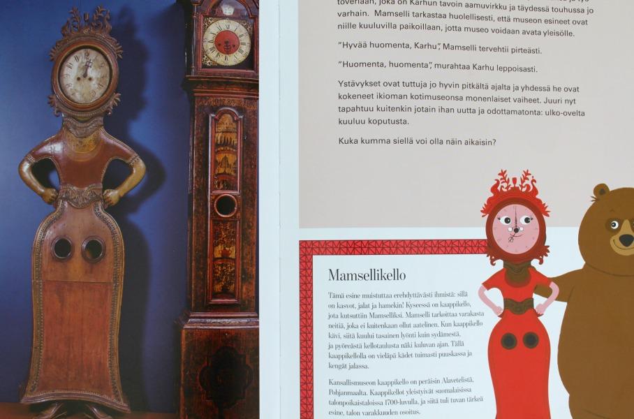 Kansallismuseo herää eloon uudessa lastenkirjassa