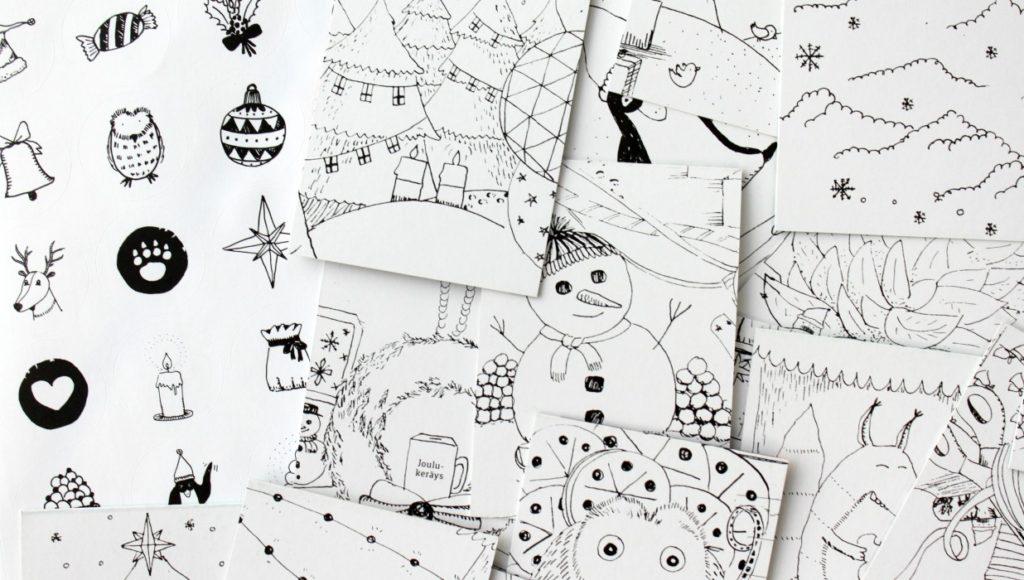 Piun ja Örmön joulukalenteri