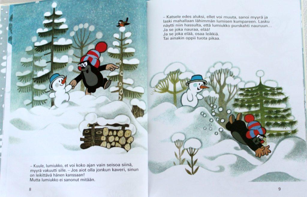Myyrä ja lumiukko