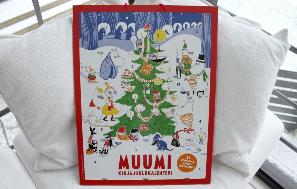 joulukalenteri 2018 kirja Muumien kirjajoulukalenteri   24 luukullista satuja   Taidekoti joulukalenteri 2018 kirja