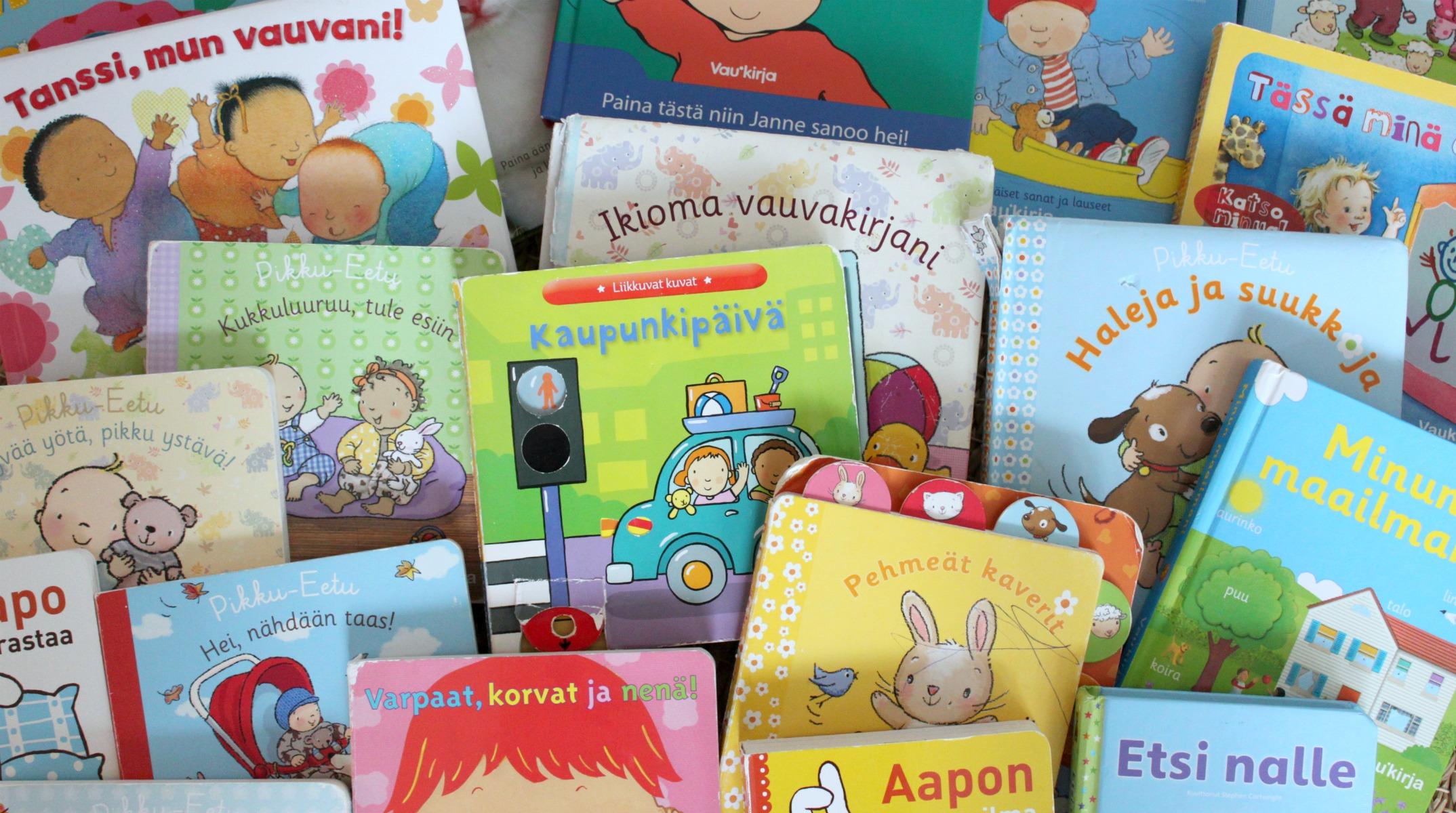 Vaukirja / vauvakirjoja