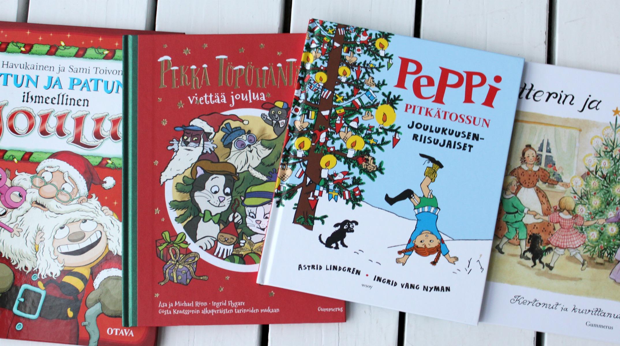 Neljä hyvää joulukirjaa lapsille