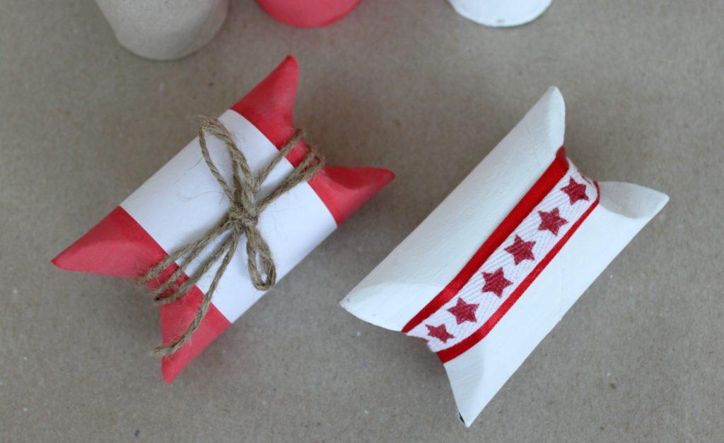 Jouluaskartelua / DIY-paketit vessapaperirullista