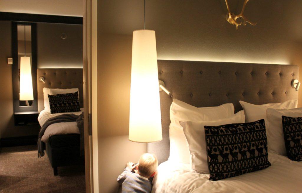 Hotellissa Tampereella