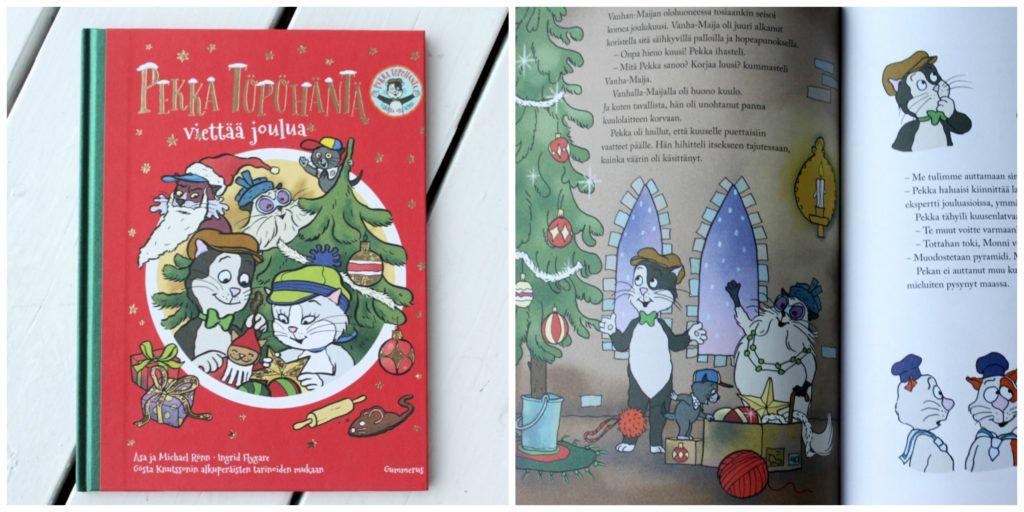 Lasten joulukirja / Pekka Töpöhäntä viettää joulua