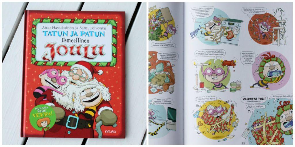 Joulukirja lapselle / Tatun ja Patun ihmeellinen joulu
