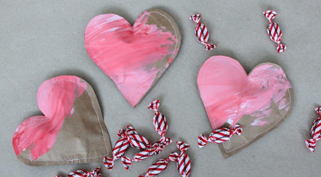 Ystävänpäivä / sydänpussit