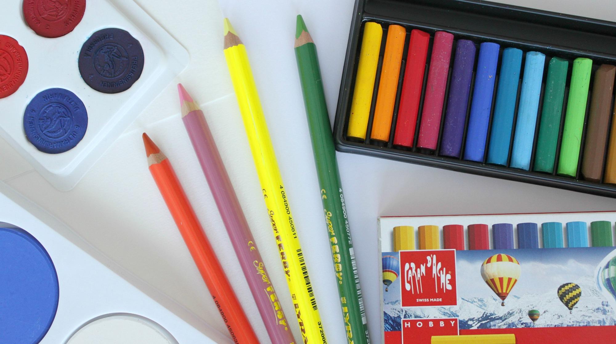 Laadukkaat taidetarvikkeet lapselle