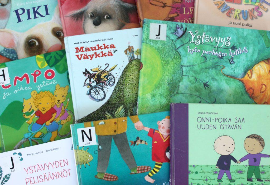 Ystävyysaiheisia lastenkirjoja
