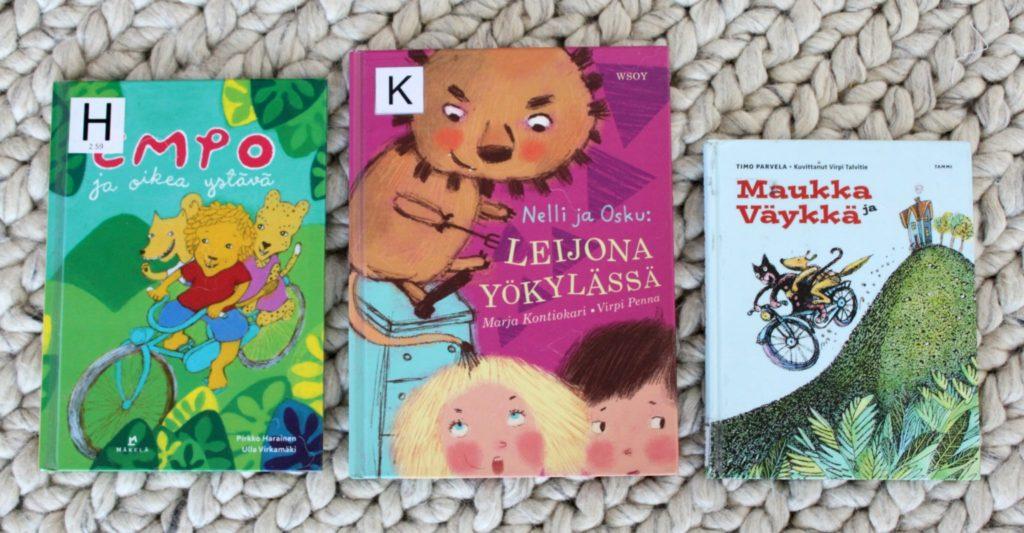 Ystävyys / lastenkirjoja ystävyydestä
