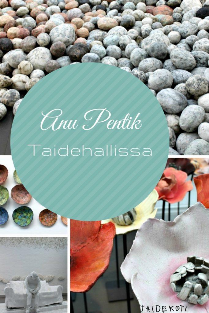 Anu Pentik Helsingin Taidehallissa