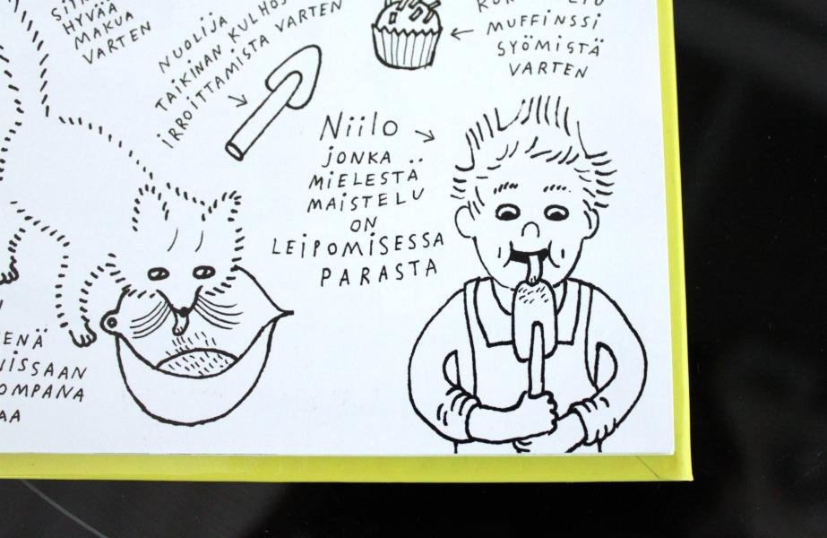 Aira Savisaari ja Hannamari Ruohonen: Niilo leipoo