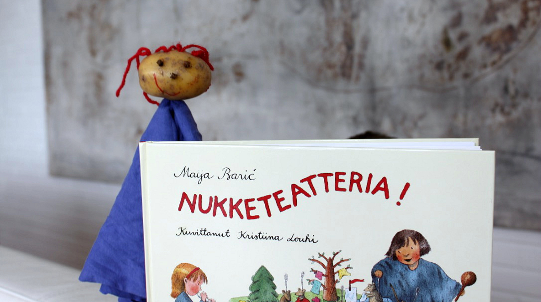 Perunanukke ja Nukketeatteria!-kirja