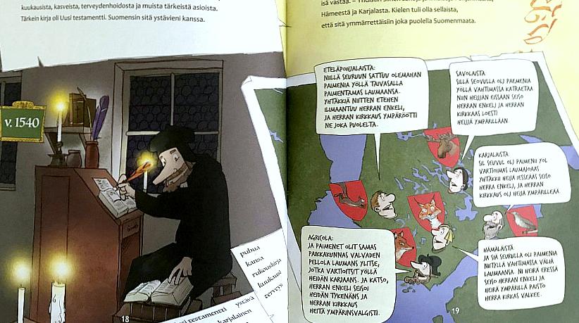 Lastenkirja suomen kirjakielen synnystä