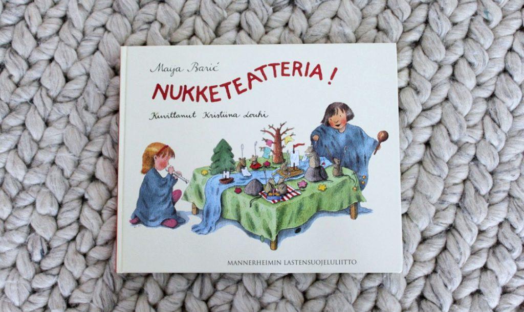 Ihastuttava nukketeatterikirja / Maija Baric: Nukketeatteria!
