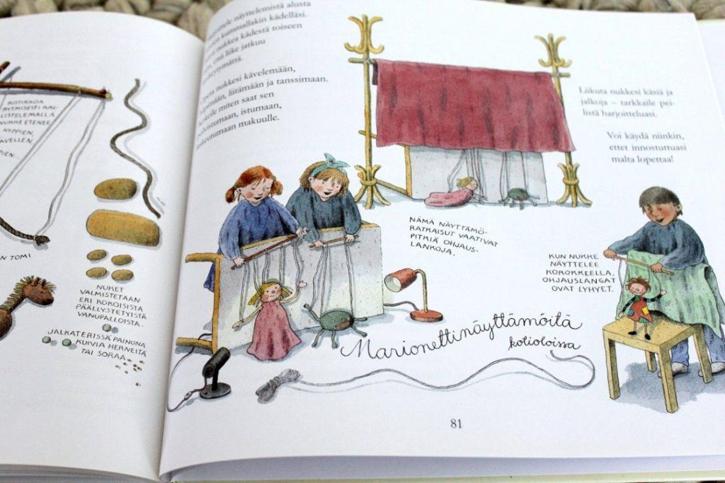 Nukketeatteria ja marionetteja