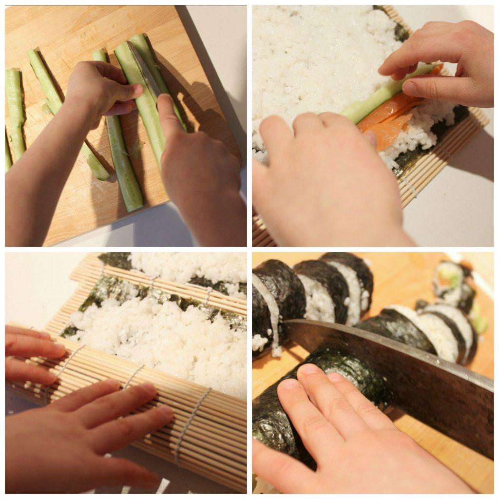 Sushin valmistusta / Japani
