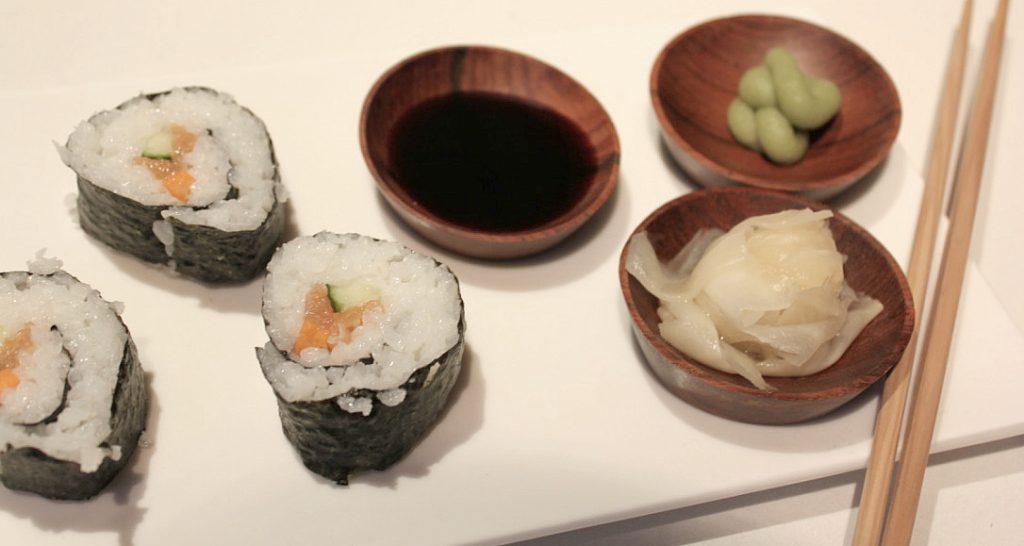 Japani-ilta / sushia