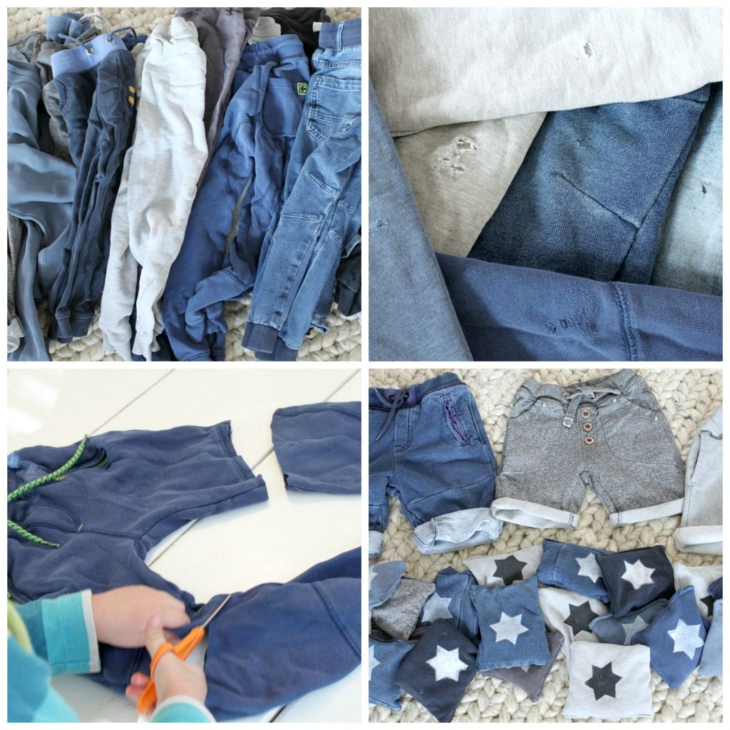 Hernepussit rikkinäisistä housuista