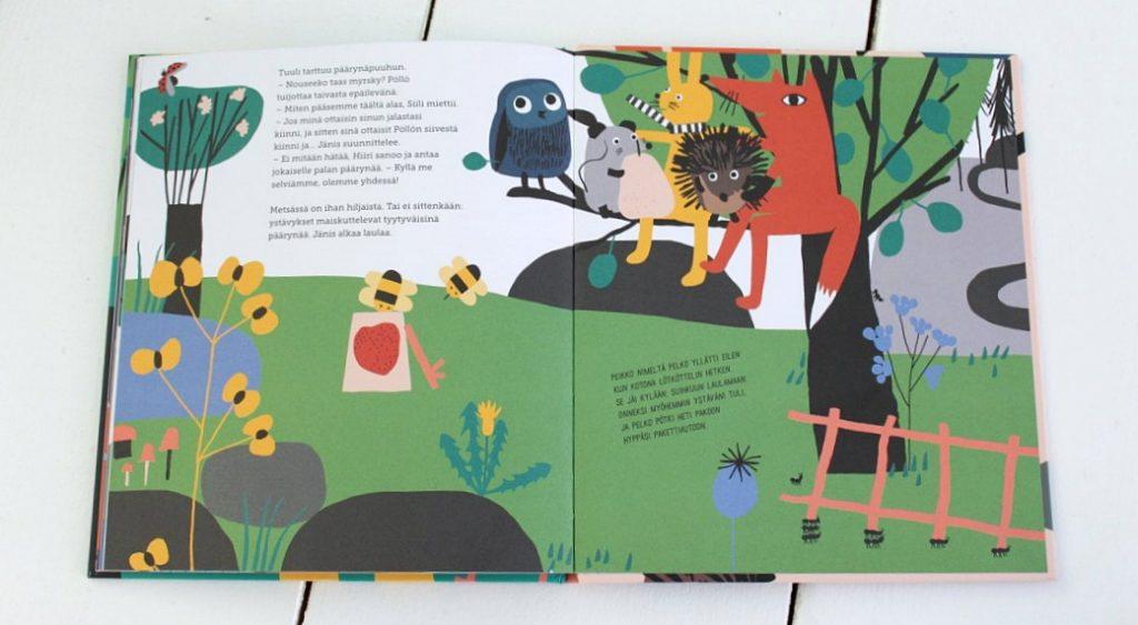 Réka Király: Pieni suuri tarina ystävyydestä, Etana Editions 2017